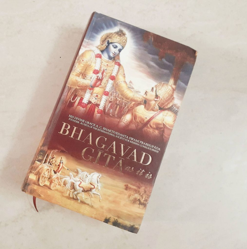 Bhagavad Gita as it is by Swami Parbhupada