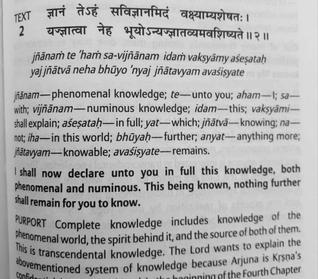 Bhagavad Gita as it is by Swami Parbhupada Text